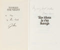 Autographs:Celebrities, Jim Irwin Signed Book: To Rule The Night [and] Mary IrwinSigned Book: The Moon Is Not Enough. ... (Total: 2 Items)