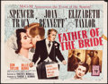 "Movie Posters:Comedy, Father of the Bride (MGM, 1950). Half Sheet (22"" X..."