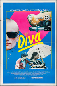 "Diva (United Artists Classics, 1982). One Sheet (27"" X 41""). Foreign"