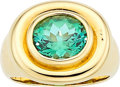 Estate Jewelry:Rings, Tourmaline, Gold Ring, Paloma Picasso for Tiffany & Co. . ...