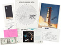 Autographs:Celebrities, Apollo Astronaut Autograph Collection (Seven Items). ... (Total: 7Items)