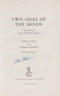 Autographs:Celebrities, Dave Scott Signed Book: Two Sides of the Moon....