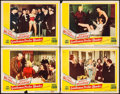 "Movie Posters:Musical, Gentlemen Prefer Blondes (20th Century Fox, 1953). Lobby Cards (4) (11"" X 14""). Musical.. ... (Total: 4 Items)"