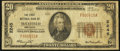 National Bank Notes:Kentucky, Mayfield, KY - $20 1929 Ty. 1 The First NB Ch. # 2245. ...