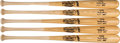 Baseball Collectibles:Bats, 2000's Monte Irvin Personal Model Bats Lot of 5 - Shipped to Irvin. ...