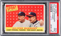 Baseball Cards:Singles (1950-1959), 1958 Topps Stengel/Haney All-Star Managers #475 PSA Mint 9 - Pop Five, None Higher. ...