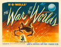 "Movie Posters:Science Fiction, The War of the Worlds (Paramount, 1953). Half Sheet (22"" X 28"")Style A. Science Fiction.. ..."