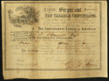 Confederate Notes:Group Lots, Ball 366 Cr. 154 $1000 1864 Six Per Cent Non Taxable CertificateFine.. ...