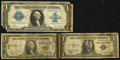 "Small Size:World War II Emergency Notes, A Trio of ""Short Snorters."". ... (Total: 3 notes)"