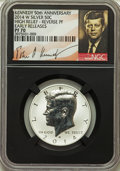 Kennedy Half Dollars, 2014-D 50C High Relief Kennedy, 50th Anniversary, Early ReleasesSP70 NGC. This set includes the following: 2014-S