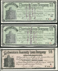 Obsoletes By State:Minnesota, Minneapolis, MN- Northwestern Guaranty Loan Company $15; $30(2)Debenture Interest Certificates 1893-94. ... (Total: 3 notes)