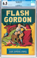 Golden Age (1938-1955):Science Fiction, Four Color #173 Flash Gordon (Dell, 1947) CGC FN+ 6.5 Cream tooff-white pages....