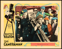 "The Cameraman (MGM, 1928). Lobby Card (11"" X 14"")"