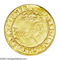 Italy: , Italy: Naples. Frederico III gold Ducat ND (1496-1501), Friedberg822, choice UNC, full mint luster and beautifully executeddetail...