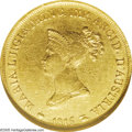 Italy: , Italy: Parma. Maria Luigia gold 20 Lire 1815, KM-C31, Friedberg934, XF40 NGC, tiny surface marks on the obverse, rare type andthe...
