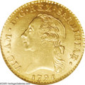 Italy: , Italy: Sardinia. Vittorio Amadeo III gold Doppia 1791, KM-C67,Fr-1120, MS64 NGC, a remarkable example with full mint luster andbo...