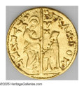 Italy: , Italy: Venice. Trio of gold Ducats, Francesco Dona (1545-53)Friedberg 1250, two pieces, both VF-XF, and Lorenzo Priuli(1556-59) F... (Total: 3 coins Item)