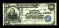 National Bank Notes:Utah, Salt Lake City, UT - $10 1902 Plain Back Fr. 628 The National City Bank Ch. # (P)10308. ...