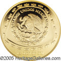 Mexico: , Mexico: Republic gold 50 Pesos 1998, KM668, Proof 70 NGC, Aguila,only 300 pieces struck in Proof....