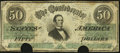 Confederate Notes:1862 Issues, T50 $50 1862 PF-16 Cr. 362A - Rare Variety.. ...