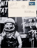 "Autographs:Celebrities, John Glenn Signed ""Project Mercury"" First Day Cover with Photo. ...(Total: 2 Items)"