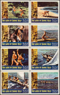"Movie Posters:Adventure, She Gods of Shark Reef (American International, 1958). Lobby CardSet of 8 (11"" X 14""). Adventure.. ... (Total: 8 Items)"