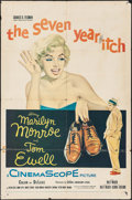 "Movie Posters:Comedy, The Seven Year Itch (20th Century Fox, 1955). One Sheet (27"" X41""). Comedy.. ..."
