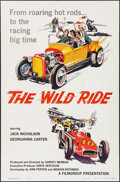 "Movie Posters:Exploitation, The Wild Ride (Filmgroup, Inc., 1960). One Sheet (27"" X 41"").Exploitation.. ..."