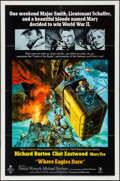 """Movie Posters:War, Where Eagles Dare (MGM, 1968). One Sheet (27"""" X 41""""). War.. ..."""