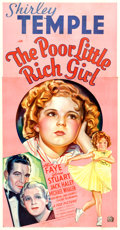 "Movie Posters:Musical, The Poor Little Rich Girl (20th Century Fox, 1936). Three Sheet(41"" X 79"") Style B.. ..."