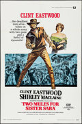 "Movie Posters:Western, Two Mules for Sister Sara (Universal, 1970). One Sheet (27"" X 41""). Western.. ..."