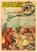 "Movie Posters:Drama, The Diver (Vitagraph, 1913). Export Poster (55"" X 78"").. ..."