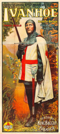 "Movie Posters:Adventure, Ivanhoe (IMP, 1913). British Three Sheet (40"" X 88"").. ..."