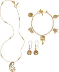 Estate Jewelry:Suites, Diamond, Gold Jewelry Suite, COOMI. ... (Total: 4 Items)