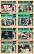 "Movie Posters:Horror, Revolt of the Zombies (Academy, 1936). Lobby Cards (8) (11"" X14"").. ... (Total: 8 Items)"