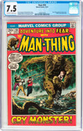 Bronze Age (1970-1979):Horror, Fear #10 (Marvel, 1972) CGC VF- 7.5 Off-white to white pages....