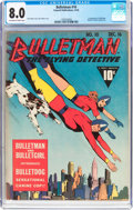 Golden Age (1938-1955):Superhero, Bulletman #10 (Fawcett Publications, 1942) CGC VF 8.0 Off-white to white pages....