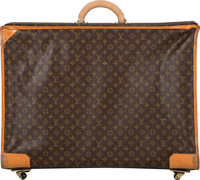 """Louis Vuitton Classic Monogram Canvas Suitcase Good to Very Good Condition 29"""" Width x 21"""" Height"""