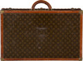 "Luxury Accessories:Travel/Trunks, Louis Vuitton Classic Monogram Canvas Trunk. Good Condition.28"" Width x 17"" Height x 8.5"" Depth. ..."