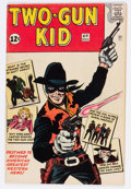 Silver Age (1956-1969):Western, Two-Gun Kid #60 Handwritten Issue Number Variant (Marvel, 1962)Condition: VG....