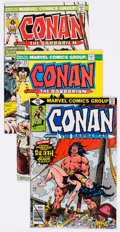 Bronze Age (1970-1979):Adventure, Conan the Barbarian Group of 72 (Marvel, 1975-81) Condition: Average NM-.... (Total: 72 Comic Books)