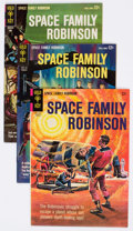 Silver Age (1956-1969):Science Fiction, Space Family Robinson Group of 8 (Gold Key, 1964-77) Condition: Average VF.... (Total: 8 Comic Books)