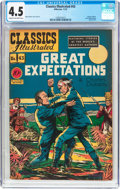 Golden Age (1938-1955):Classics Illustrated, Classics Illustrated #43 Original (Gilberton, 1947) CGC VG+ 4.5Cream to off-white pages....