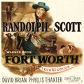 "Movie Posters:Western, Fort Worth (Warner Brothers, 1951). Six Sheet (80"" X 80"").. ..."