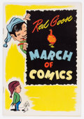 Golden Age (1938-1955):Funny Animal, March of Comics #67 Oswald Rabbit - Red Goose Variant (K. K.Publications, Inc., 1951) Condition: VF+....