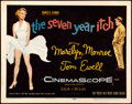 "Movie Posters:Comedy, The Seven Year Itch (20th Century Fox, 1955). Title Lobby Card (11""X 14"").. ..."