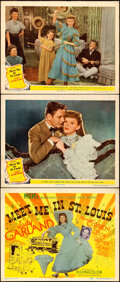 """Movie Posters:Musical, Meet Me in St. Louis (MGM, 1944). Title Lobby Card and Lobby Cards(2) (11"""" X 14"""").. ... (Total: 3 Items)"""