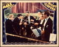 "Movie Posters:Comedy, A Night at the Opera (MGM, 1935). Lobby Card (11"" X 14"").. ..."