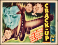 "Movie Posters:Drama, Crack-Up (20th Century Fox, 1936). Title Lobby Card (11"" X 14"")....."