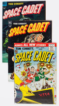 Golden Age (1938-1955):Science Fiction, Tom Corbett Space Cadet Group of 9 (Dell, 1950s) Condition: AverageVG+.... (Total: 9 Comic Books)